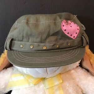 ABG Juniors hat grey and pink stylish one size